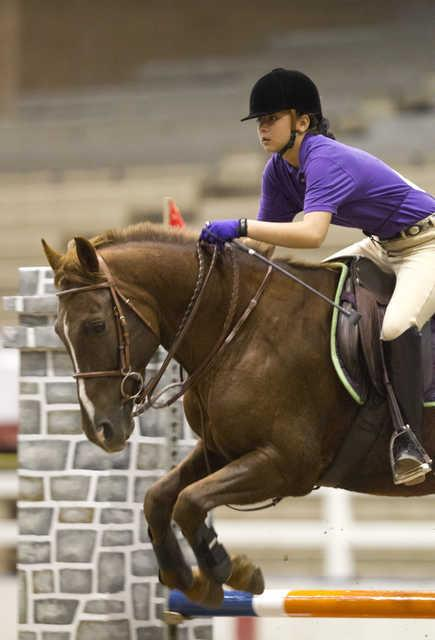 Gracie Kitahara and JoC at the 2012 American Royal Hunter Jumper Show